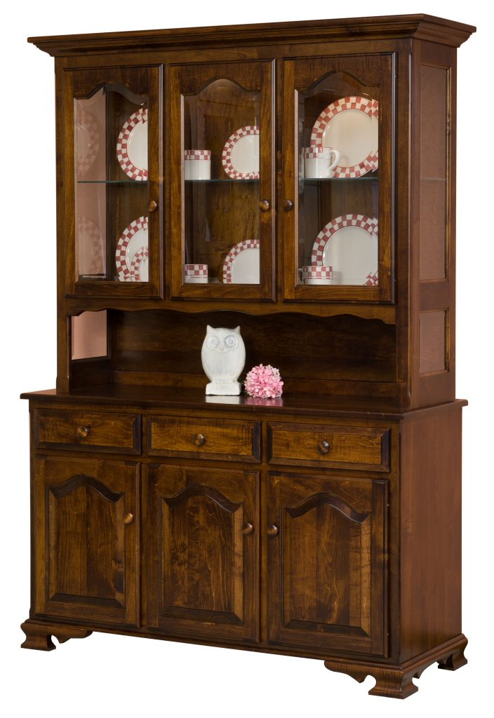 Langrange China Hutch Open Deck