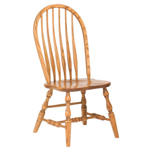 Bent Feather Bow Chair