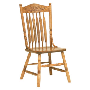Bent Paddle Post Chair