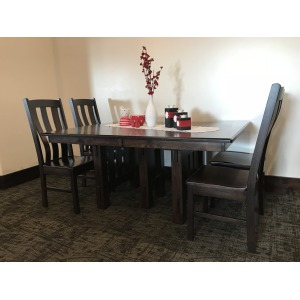 Rustic Hickory West Point Mission Table