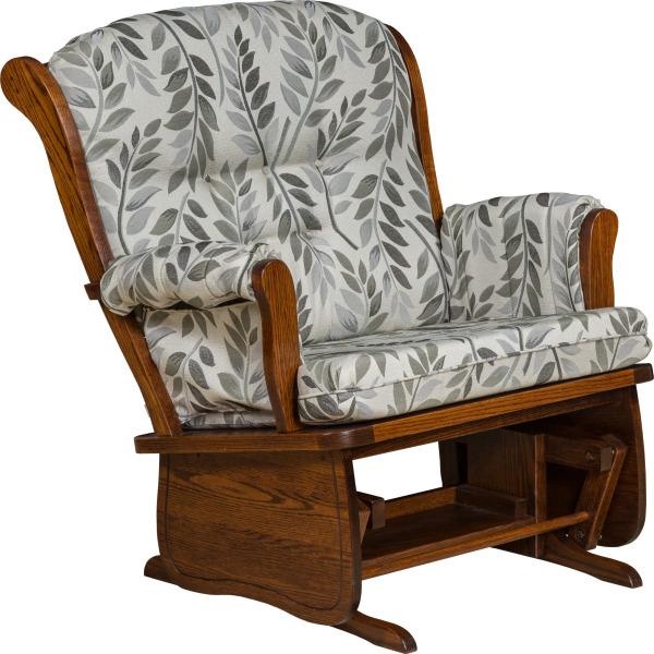 072 Swanback Chair & A Half